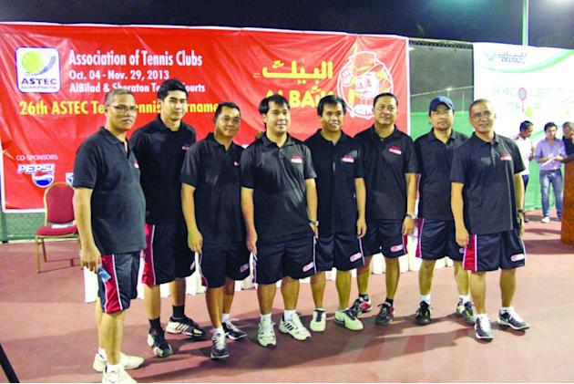 DJ Auto Parts, RSTP-Adnan face off in ALBAIK tennis finals