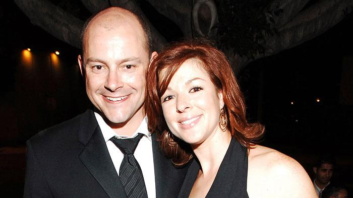 Rob Corddry and Sandra Corddry at The 57th Annual Emmy Awards - Comedy Central After Party.