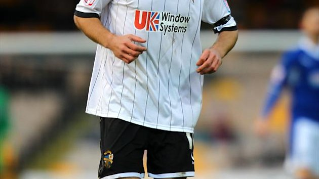Goals from Tom Pope, pictured, and Lee Hughes gave visitors Port Vale the win