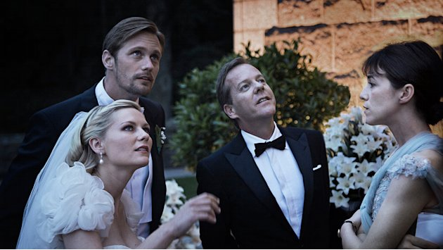 Melancholia 2011 Magnolia Pictures Stills Kirsten Dunst Alexander Skarsgard Keifer Sutherland