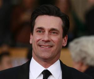 """Actor Jon Hamm of the TV drama """"Mad Men"""" arrives at the 19th annual Screen Actors Guild Awards in Los Angeles"""