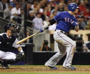 Hamilton returns to lead Rangers to 7-3 win