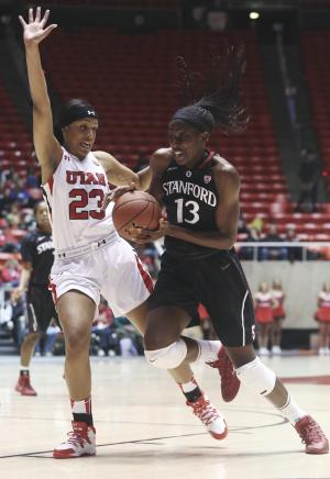 Ogwumike leads No. 4 Stanford women past Utah