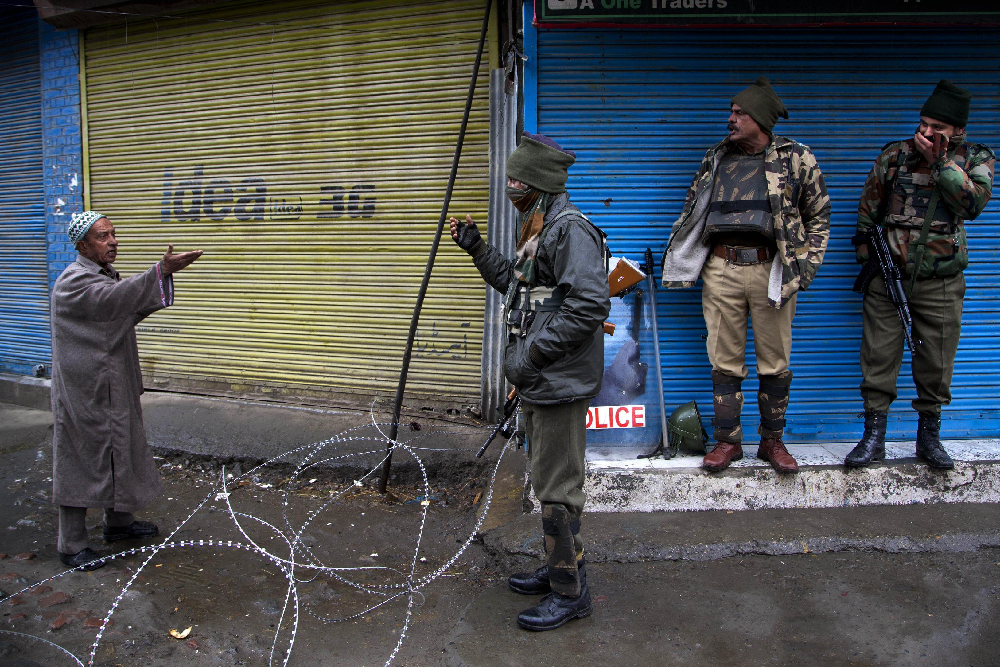 Dozens detained, life paralyzed by strike in Indian Kashmir