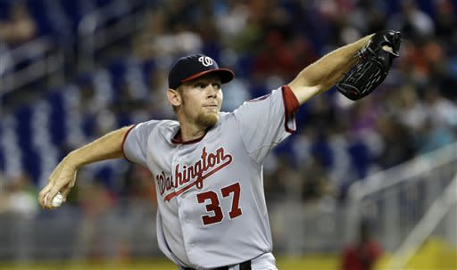 Marlins hand Nationals' Strasburg his worst defeat