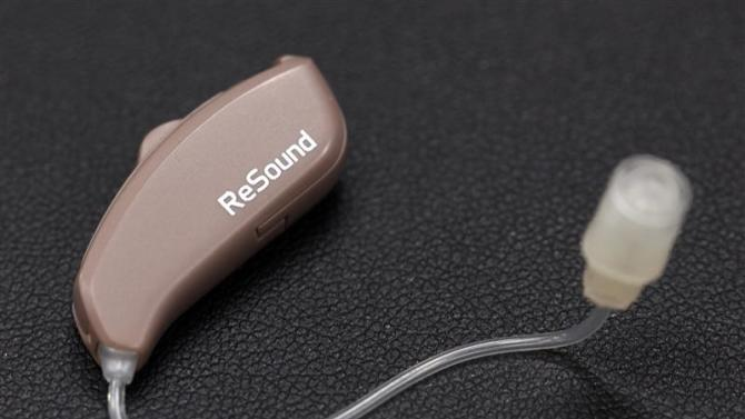 ReSound LiNX mock-up is pictured in Vienna