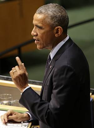 U.S. President Barack Obama addresses the Climate Summit …