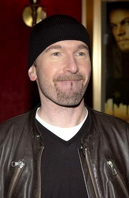 The Edge at the New York premiere of Miramax's Gangs of New York