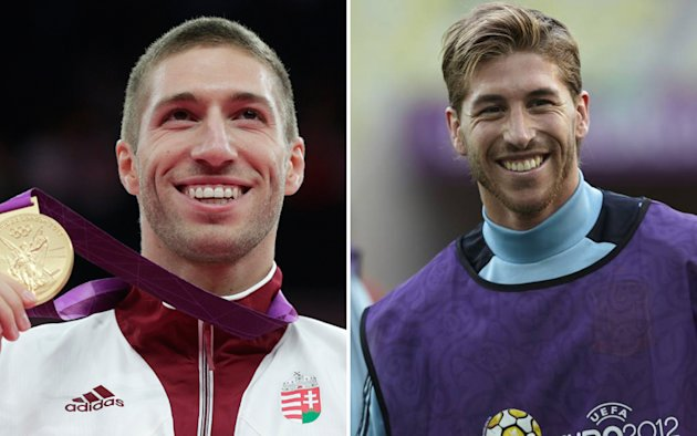 Krisztian BERKI (Ginnastica artistica, cavallo con maniglie) - Sergio RAMOS