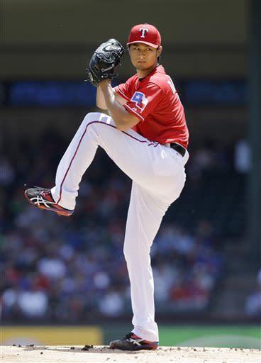 Darvish, Beltre and Rangers finish sweep of Boston