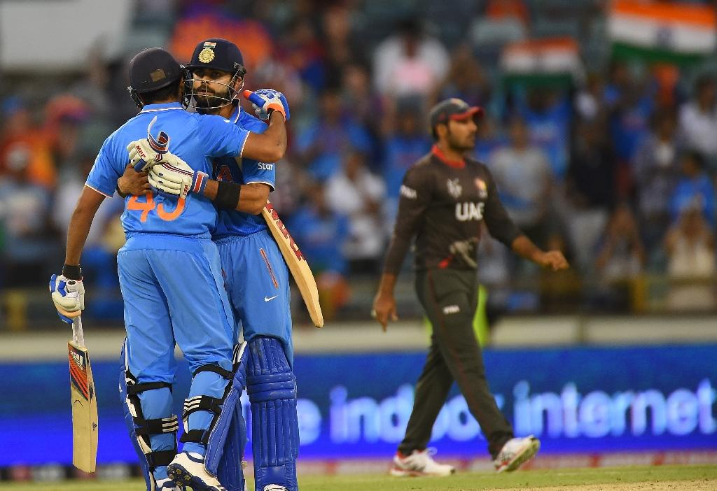 India unbeaten at World Cup after UAE rout