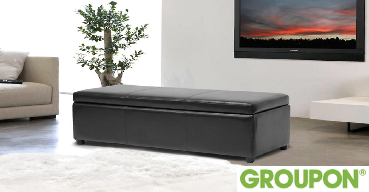 Storage Bench Ottoman for $119.99