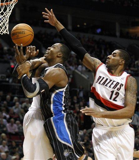 Magic survive late rally to beat Blazers 107-104