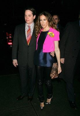 Matthew Broderick and Sarah Jessica Parker at the New York City premiere of Miramax Films' Smart People – 03/31/2008 Photo: Jim Spellman, WireImage.com
