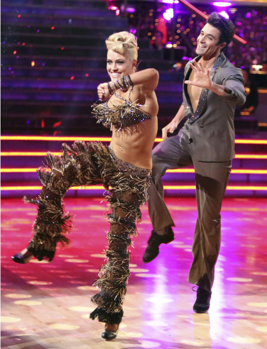 Peta Murgatroyd and Gilles Marini (9/24/12)