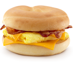mcdonald's bacon egg cheese bagel