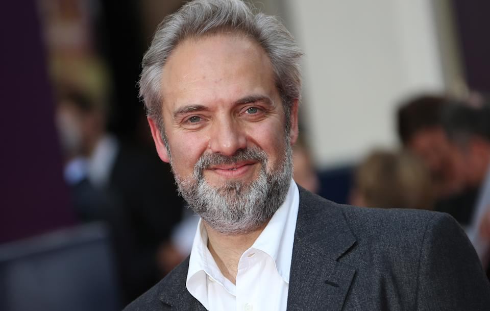 Director Sam Mendes arrives for the opening night of Charlie and the Chocolate Factory, a new stage musical based on Roald Dahl's popular story about Willy Wonka and his amazing Chocolate Factory, at the Drury Lane Theatre in central London, Tuesday, June 25, 2013. (Photo by Joel Ryan/Invision/AP)