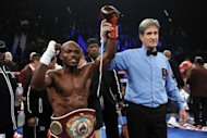 Timothy Bradley, seen here in November 2011, says he is not about to let the chance of a lifetime pass him by when he steps into the ring against Filipino fight king Manny Pacquiao on Saturday