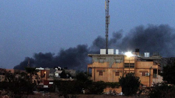 clashes between Libyan security forces and armed Islamist groups