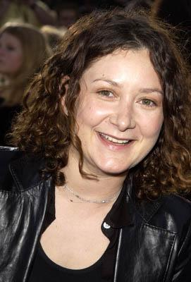 Premiere: Sara Gilbert at the LA premiere of Columbia Pictures' Spider-Man - 4/29/2002