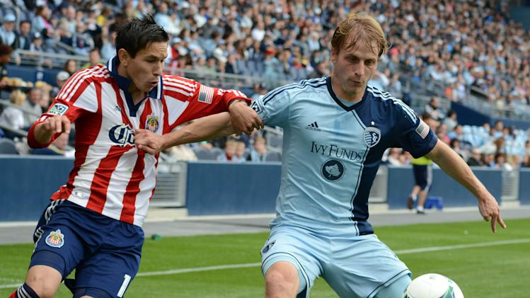 MLS: Chivas USA at Sporting KC