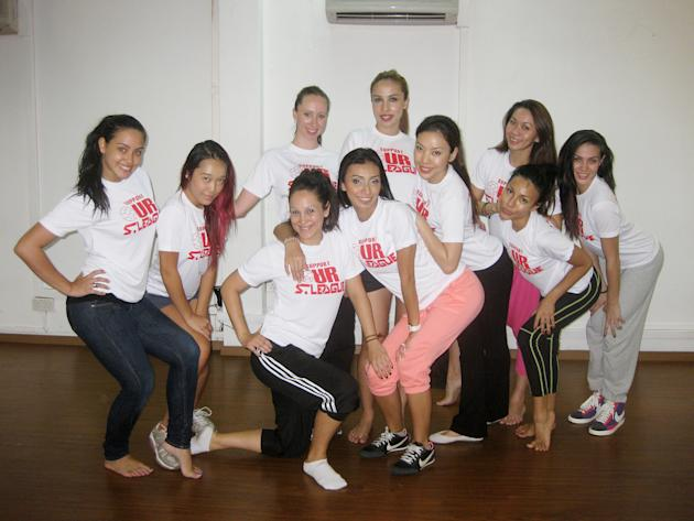 The newly-formed S.League SuperGals strutting their stuff
