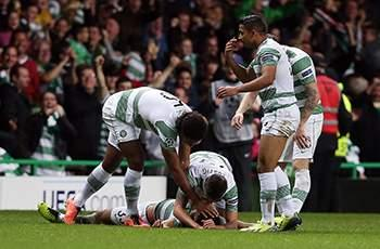 Celtic 2-1 Ajax: 10-man Bhoys seal crucial win
