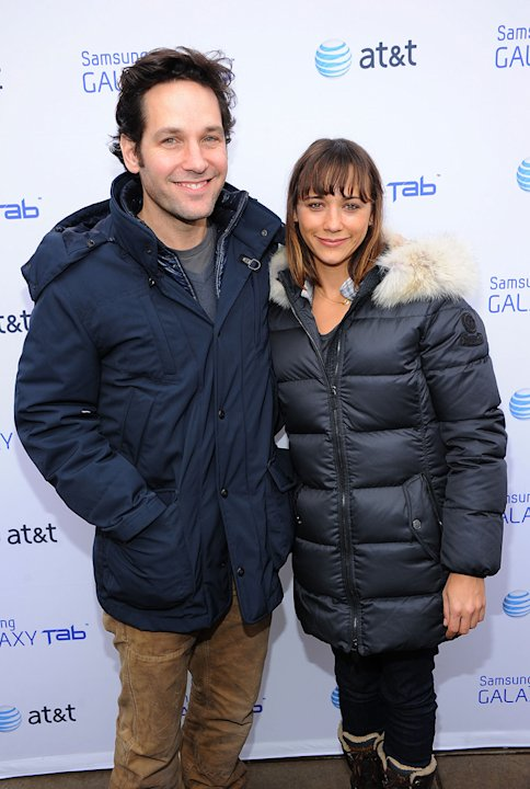 2011 Sundance Film Festival Paul Rudd Rashida Jones