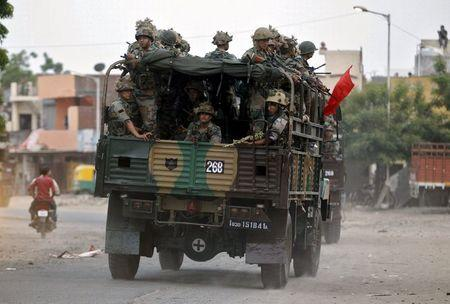 India deploys army to stop caste-related violence in Gujarat