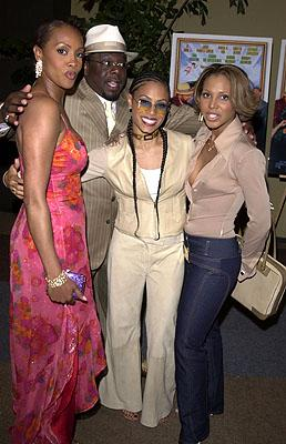Vivica A. Fox , Cedric The Entertainer , Jada Pinkett Smith and Toni Braxton at the Hollywood premiere of Fox Searchlight's Kingdom Come