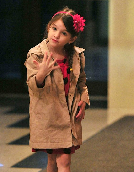 Suri Cruise Out InNYC