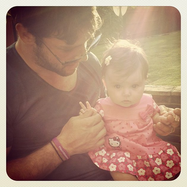 Ben Foden with Aoife Belle