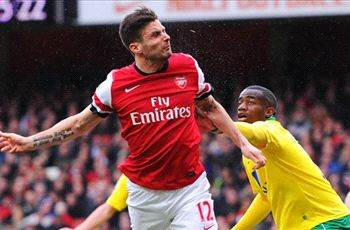 Arsenal striker Giroud banned for three matches
