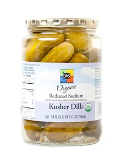Whole Foods 365 Organic Kosher Dill Spears