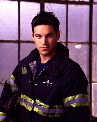 Eddie Cibrian as firefighter Jimmy Doherty on NBC's Third Watch Third Watch