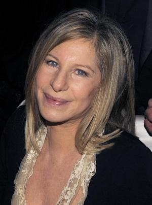 "FILE - In this March 7, 2010 file photo, Barbara Streisand is shown at the Governors Ball following the the 82nd Academy Awards in the Hollywood section of Los Angeles. Streisand is one of the greatest interpreters of songwriting greats Alan and Marilyn Bergman's iconic songs. She put her signature stamp on such memorable tunes as ""The Way We Were,"" ""You Don't Bring Me Flowers"" and ""Papa Can You Hear Me"" from her musical ""Yentl.""(AP Photo/Chris Pizzello, file)"