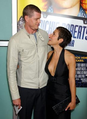 Premiere: Eric Dane and Alyssa Milano at the LA premiere of Paramount's Dickie Roberts: Former Child Star - 9/3/2003