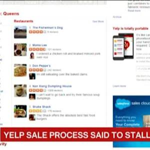 Yelp Founder Said to Temporarily Stall Sales Process