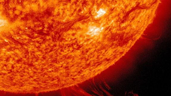 Sun Unleashes Huge Solar Plasma Wave