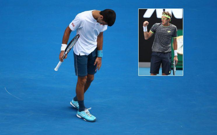 Six-time champ Djokovic bounced in second round of Australian Open