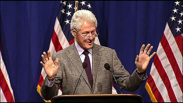 Bill Clinton interprets 2012 election results