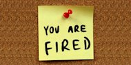 Five things you should do after getting fired. Tips for what to do when you are fired. How to deal with being laid-off