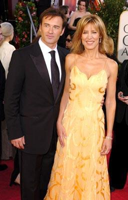 Julian McMahon and Christine Lahti 62nd Annual Golden Globe Awards - Arrivals Beverly Hills, CA - 1/16/05