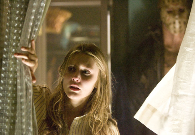 Julianna Guill Friday the 13th Production Stills New Line 2009