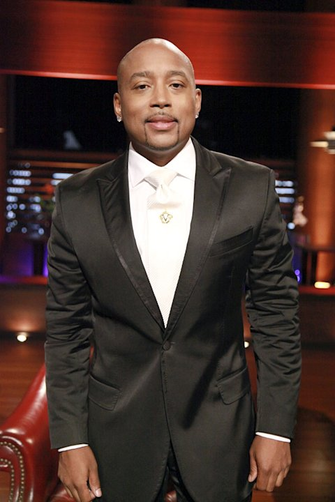 "Daymond John (fashion mogul), in ""Shark Tank."""