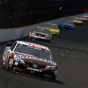 Best in-car audio from the Brickyard 400