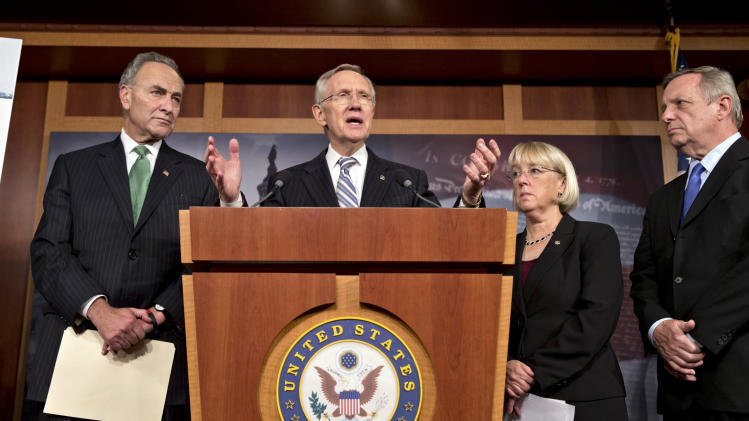 Congress votes to end shutdown, avoid US default