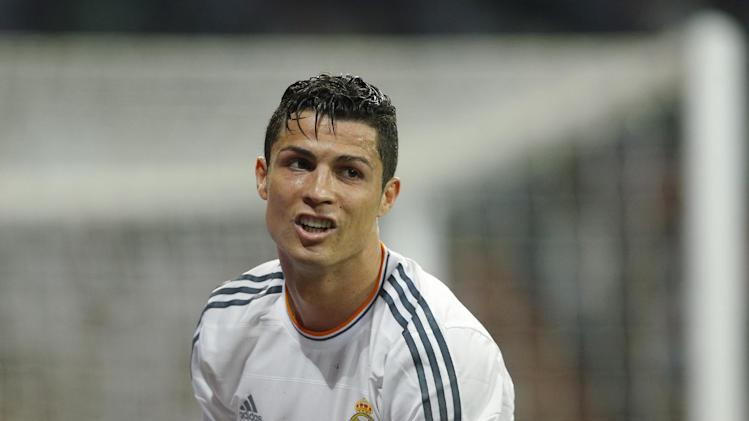Real Madrid's Cristiano Ronaldo hurt at Valladolid