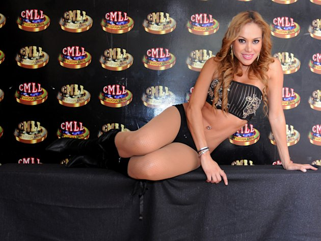 Arely Reyez. Edecn del CMLL de la Arena Mxico y Coliseo