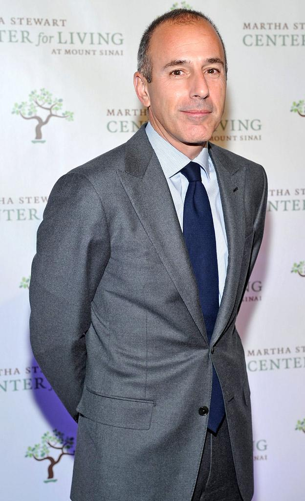 Matt Lauer Fourth Annual Martha Stewart Centerfor Living At Mount